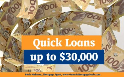 Need a Quick Loan up to $30,000?