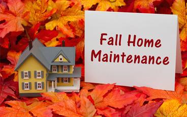 Fall Home Maintenance Check List