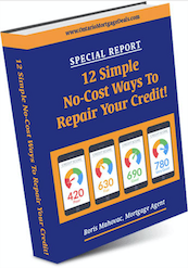 12 Simple No Cost Ways to Repair Your Credit